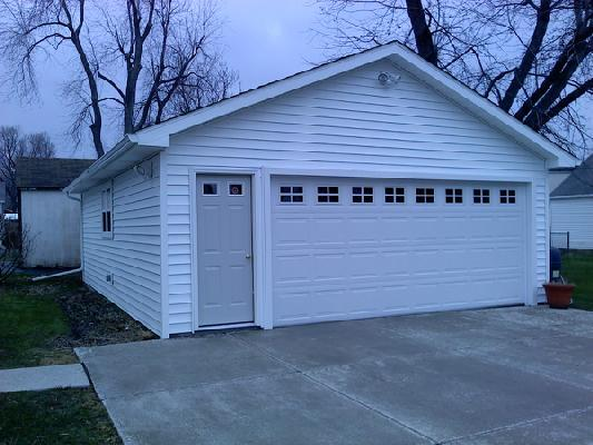 Garage Construction House Crafter S Of Buffalo Amp Western